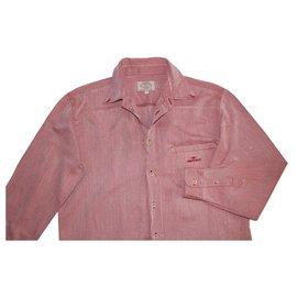 Armani Jeans-chemises-Rose