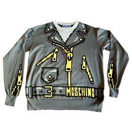 Moschino-Sweaters-Grey
