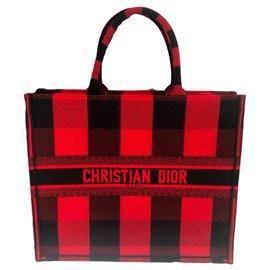 Dior-DIOR BOOK TOTE-Rouge
