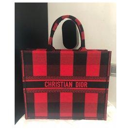 Dior-DIOR BOOK TOTE-Rot