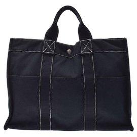 Hermès-Sac à main Hermès-Noir