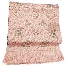 Louis Vuitton-Logomania Shine Scarf-Pink
