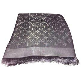 Louis Vuitton-Scialle Monogram Shine 75120-Other