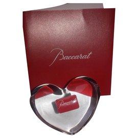 Baccarat-coeur zinzin de chez Baccarat-Blanc