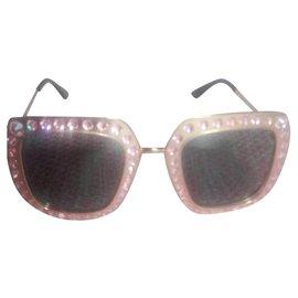 Gucci-Lunettes de soleil oversize-Beige