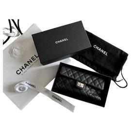 Chanel-CHANEL Uniform clutch 2.55-Black