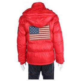 Hudson-Blazers Jackets-Red