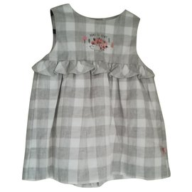 Autre Marque-Cadet Roussel new dress 12 month-Grey