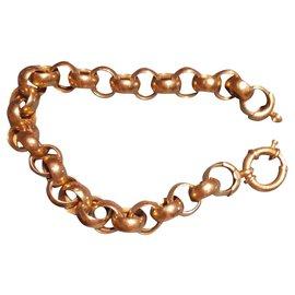 Autre Marque-Bracelet en or jaune 750-Doré