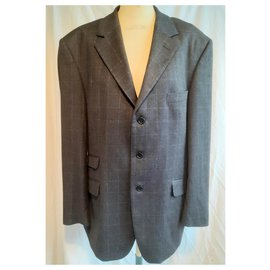 Cerruti 1881-Suits-Grey,Light blue