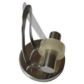 Autre Marque-Dévidoir pour ruban adhésif acier design vintage-Argenté