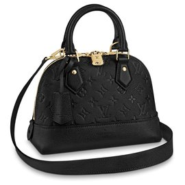 Louis Vuitton-Neo LV alma BB-Black