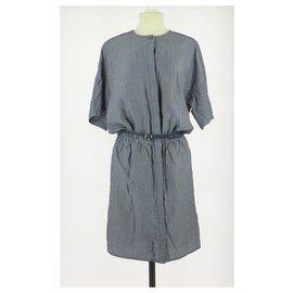 Sessun-robe-Navy blue