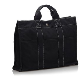Hermès-Hermes Black Fourre Tout MM-Black