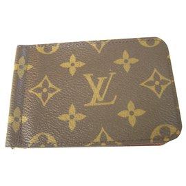 Louis Vuitton-Billfold Card Holder-Brown