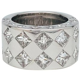 "Chanel-Chanel ring ""Jacquard"" white gold and diamonds.-Other"