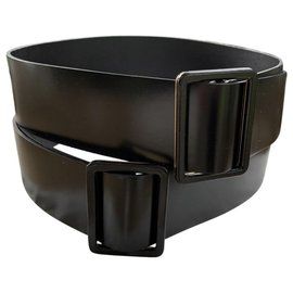 Balenciaga-Belts-Black