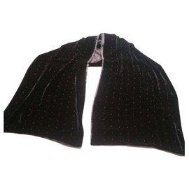 Autre Marque-Scarves-Black