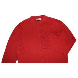 Stone Island-Sweaters-Red