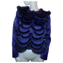 Emporio Armani-Rabbit jacket-Purple