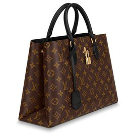 Louis Vuitton-Flower tote LV new-Brown