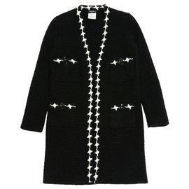 Chanel-BLACK CASHMERE FR40-Preto