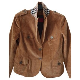 Burberry-Jackets-Light brown