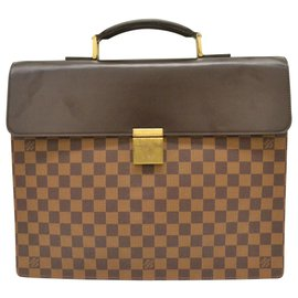 Louis Vuitton-Louis Vuitton Damier Satchel Businessn Altona PM-Marron