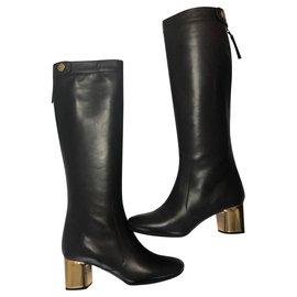 Céline-Boots-Brown