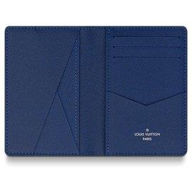 Louis Vuitton-Louis Vuitton pocket organiser new-Blue