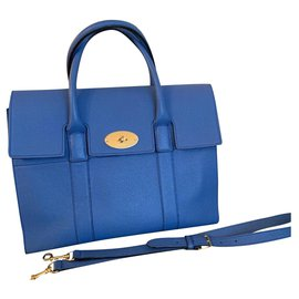 Mulberry-Bayswater with Strap-Blue