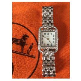 Hermès-CAPE COD HERMES DIAMONDS-Silvery
