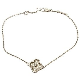 Van Cleef & Arpels-Bracelet alhambra de Van Cleef & Arpels-Argenté,Doré