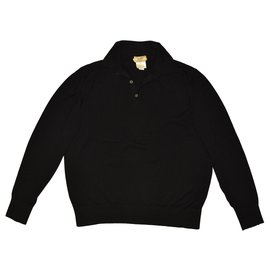 Hermès-Sweaters-Black