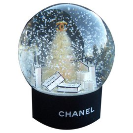 Chanel-Chanel Fir Snow Ball-Black