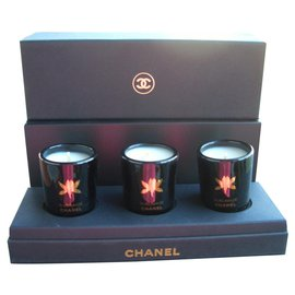 Chanel-chanel tealight-Black