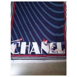 Chanel-Swimwear-Navy blue