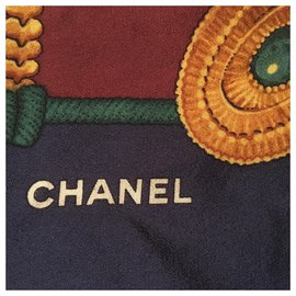 Chanel-Small chains / Val.450€-Dark red,Dark blue