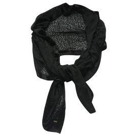 Saint Laurent-Étole 65x168 cm-Noir
