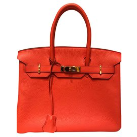Hermès-Birkin-Orange
