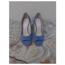 Chloé-Heels-Blue