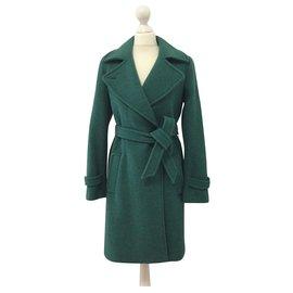 Max Mara-Manteaux, Vêtements d'extérieur-Vert