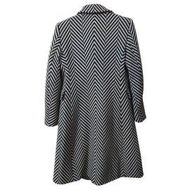 Michael Kors-Manteaux, Vêtements d'extérieur-Noir,Blanc