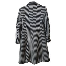 Michael Kors-Coats, Outerwear-Black,White
