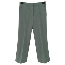 Céline-Pants, leggings-Green