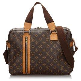Louis Vuitton-Louis Vuitton Bosphore Sac Monogram Marron-Marron