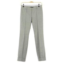 Balenciaga-Pantalon-Gris