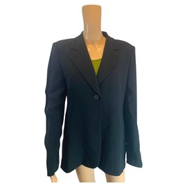 Emporio Armani-Black suit set-Black