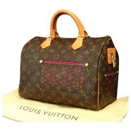 Louis Vuitton-Louis Vuitton perfo-speedy-Rose