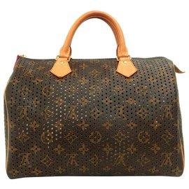 Louis Vuitton-Louis Vuitton perfo-speedy-Rose